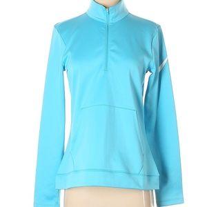 NWT Nike Dri Fit Half Zip Fleece Golf Jacket